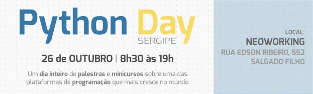 Python Day Sergipe vem aí!